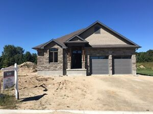 Custom Homes backing onto Caradoc Sands Golf Course