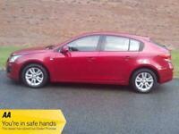2013 Chevrolet Cruze LT HATCHBACK Petrol Manual