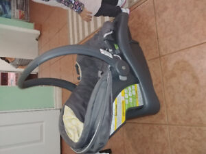 Stroller with car seat and base..