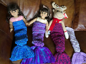 Great  gift. Doll Mermaid Tails - 18 inch dolls