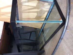 50 Gal Fish Tank, Accessories and Chemicals