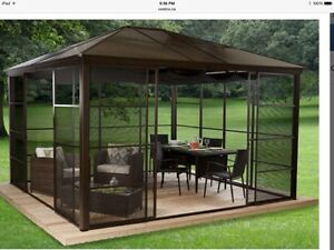 Gazebo buy garden patio items for your home in oshawa durham region kijiji classifieds - Outdoor leunstoel castorama ...