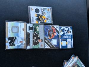 Hockey Cards - Patches, Inserts and Rookies