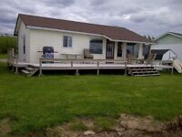 WINTERIZED 2 Bedroom Waterfront Cottage For Rent, Shediac, NB