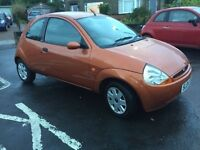04 plate ford ka 3 door 1.3 petrol ** motd till 21st June 2017** low miles