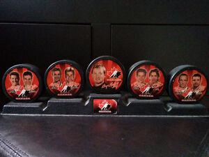 """Rondelles """"Team Canada 2002"""" de McDonalds"""