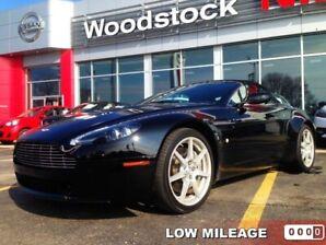 2008 Aston Martin VANTAGE BASE  LESS THAN 26,000 KMS!