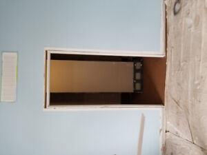 Door with frame. Negotiable