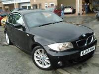 2008 58 BMW 1 SERIES 2.0 118D M SPORT 3D 141 BHP DIESEL