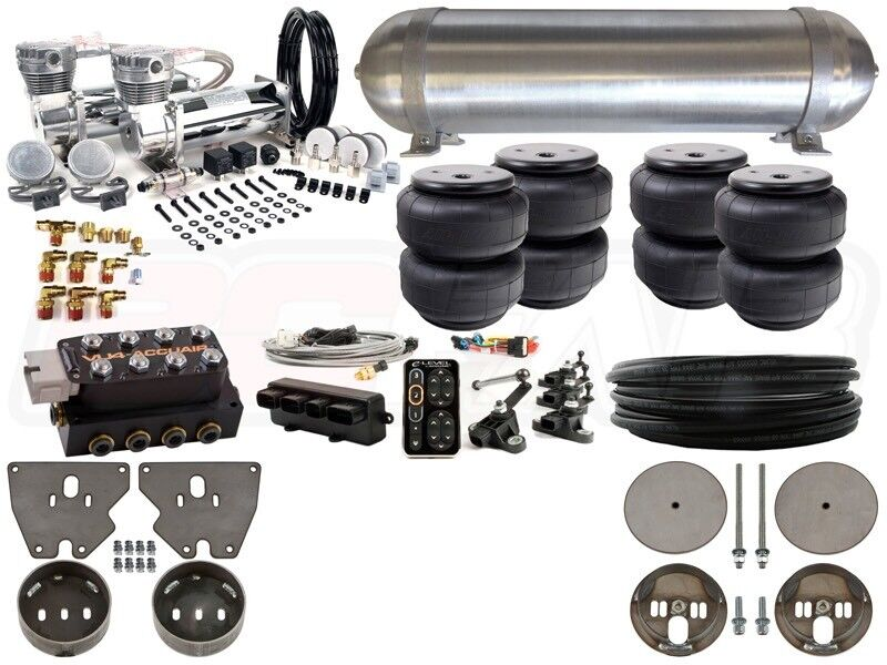 Complete Air Ride Suspension Kit - 1963-1972 Chevrolet C10 Level 4 Without Notch