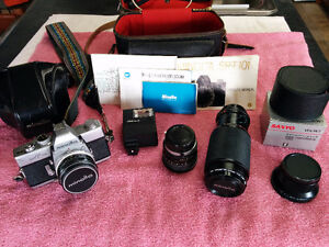 Minolta Camera and Lenses