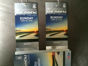 BUCKET LIST MUST!!  U.S. Open Sunday tickets!!