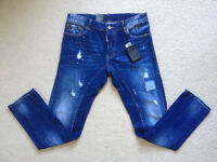 Slim Fit Denim Jeans - Brand New