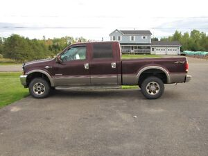 2003 Ford F-250 King Ranch Diesel Pickup Truck