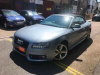 2010 Audi A5 Cabriolet S-Line 2.0 TFSI Multitronic Automatic TOP OF THE RANGE...