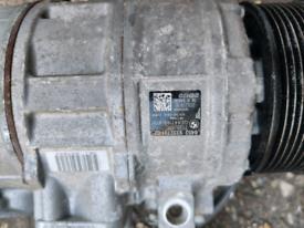 2014 BMW F22 3.0 N55B30A. Air Con Pump compressor 9332781