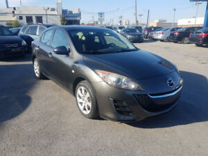Mazda 3 Mada3 2010 Automatique Air Climatise Financement 4995$