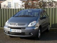 2004 (54) CITROEN XSARA PICASSO DESIRE 2.0 HDI DIESEL ** 8TH MAY 2017 MOT **