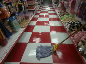 Strip and Wax floors Service