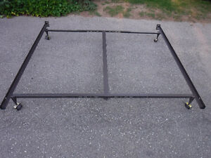 king to queen adjustable metal bed framefor split box spring