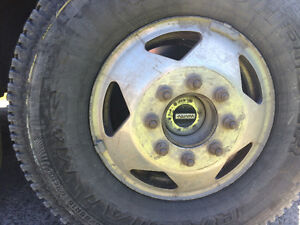 Wanted: Tire rim for 1999 F-350 dually