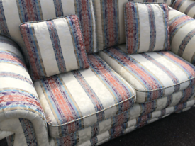 Settees and armchair