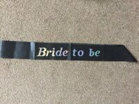 Wedding Job lot - chair signs, bunting, wedding plaques, dancing sign & Mr & Mrs plaque