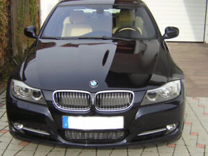 FS: 2009-2011 BMW E90 E91 CHROME KIDNEY GRILL INSERTS
