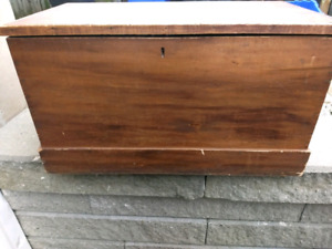 Antique Chest Toy Box