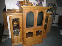 display cabinet /  book cab / movie cab/ stereo cab./