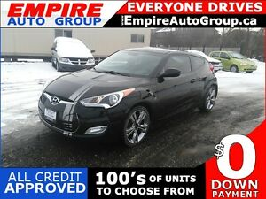 2012 HYUNDAI VELOSTER REAR CAMERA * BLUETOOTH * SUNROOF * SAT RA