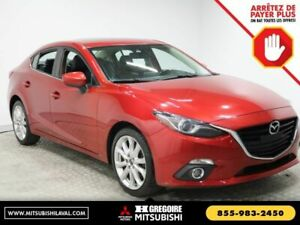 2015 Mazda Mazda3 GT AUTO MAGS CUIR TOIT OUVRANT NAVIGATION CAME