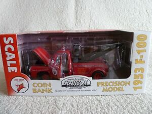 1953 F100 Towtruck collectible coin bank