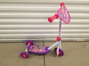 Little Girl's Scooter