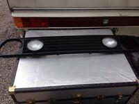 MK2 Golf De-Badged Grille - Twin Lights!