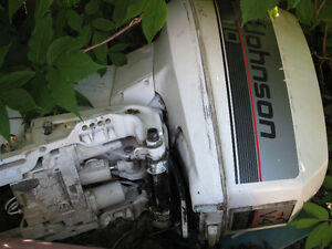 Parting out 110hp OMC johnson evinrude