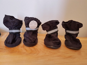 Reflective large dog boots new