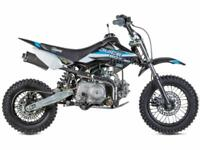 STOMP JUICEBOX MOTOCROSS PIT BIKE, AUTO, 90CC, (PERFECT XMAS GIFT)