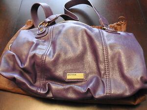 United Colors of Benetton Purple Leather Purse St. John's Newfoundland image 3