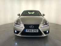 2015 LEXUS IS 300H EXECUTIVE EDITION CVT HYBRID AUTO 1 OWNER SERVICE HISTORY