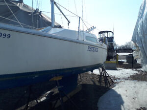 ONLINE AUCTION: Grampian 23 Sailboat! CLOSING March 30th