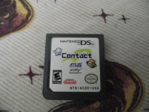 Contact Nintendo DS game.