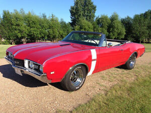 1968 Oldsmobile 442 Convertible. Classic. Numbers Matching.