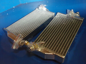 HONDA CR 250 RADIATORS BRAND NEW OVERSIZE SPEEDMASTER 2002-04