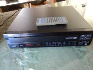 Yamaha CDC-765  - 5 Disc Carousel Compact Disc Player