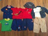 Lot vêtements été bébé garçon 6 mois