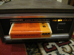 VINTAGE SOUNDESIGN 8-TRACK TAPE PLAYER Model no. 476