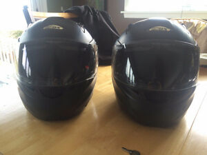 Pair Zox Motorcycle/ATV Helmets - DOT Approved
