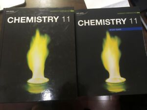 Grade 11 Nelson Chemistry Textbook + Study Guide
