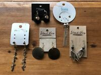 Selection of brand new earrings